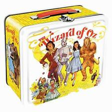 THE WIZARD OF OZ: METAL LUNCHBOX lunch box tin bag carry case retro style