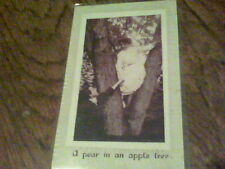 1912 A pear in an apple tree to F. P. Schaof Creston, Ohio  s1