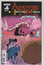 KABOOM COMICS ADVENTURE TIME CANDY CAPERS #6 DEC 2013 VARIANT B 1ST PRINT NM