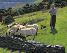 COLOR PRINT OF OIL PAINTING, IRELAND SERIES #172
