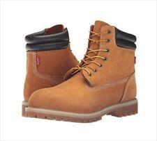 Levi's Men's Harrison Construction Boots Tan Suede Wheat Work Shoes Sz 8.5