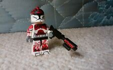Lego Star Wars Fire Squad Flame Trooper Fox Custom Minfigure 7679 7655 7681 7675