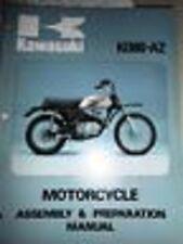 Kawasaki Assembly Preparation Manual 1976 KD80 A2