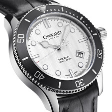 NIB Christopher Ward C60 Trident 300 Quartz on Strap, 43mm,Swiss Made,10+ Pic
