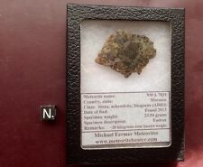 Rare Achondrite meteorite, Olivine Diogenite. NWA 7831 incredible meteorite