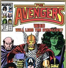 The AVENGERS #279 with Thor & Captain America from May 1987 in VF con. NS