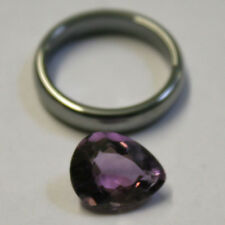 NATURAL LOOSE AMETHYST GEMSTONE 13X10MM GEM 4CT FACETED PEAR AM55