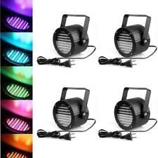 4PCS RGB LED BÜHNENBELEUCHTUNG BÜHNENLICHT DMX512 86 PAR LICHTEFFEKT EXCELLENT
