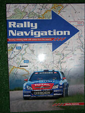 RALLY NAVIGATION GUIDE HAYNES MANUAL BOOK By MARTIN HOLMES rallying van wrc