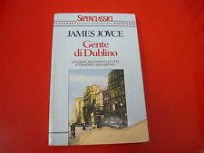 JAMES JOYCE-GENTE DI DUBLINO-BUR-SUPERCLASSICI-RIZZOLI-1992