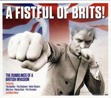 A FISTFUL OF BRITS! - VARIOUS ARTISTS (NEW SEALED 2CD)