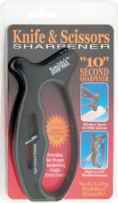 Smith's Sharpeners AC85 & Scissors Sharpener Features Specially Designed V Shape