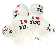 Top Sale 10Pcs 12inch I LOVE YOU Pearl Latex Balloons Decorative Globos Balloon