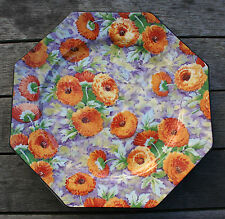 CROWN DUCAL CHINTZ - Vintage Marigold Chintz Plate