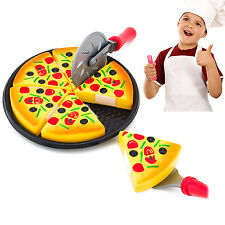 CHIC Child Kitchen Pizza Party Fast Food Slices Cutting Pretend Play Food Toy