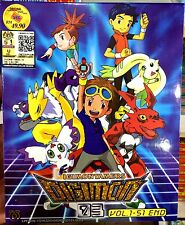 Digimon Tamers :Series 03 (Chapter 1 - 51 End) ~ 3-DVD ~ English Subtitle Anime
