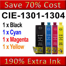 4 Ink Cartridges for Epson Stylus SX525WD SX535WD SX620FW WF-7515 WF-7525