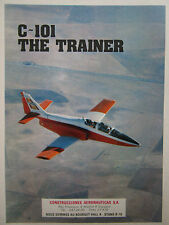 6/1979 PUB AVION CASA C-101 MILITARY TRAINER AIRCRAFT ORIGINAL FRENCH AD
