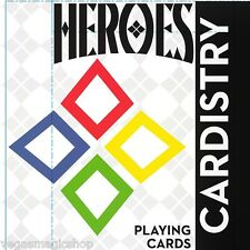 Cardistry Heroes Deck Playing Cards Poker Size USPCC Limited Editon De'Vo Sealed