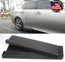 "23"" G4 ABS Side Skirts Rocker Wing Lip Apron Splitter Diffuser For  Mitsubishi"