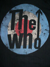 2011 Mens Women Who-Roger Daltrey-Keith Moon-Pete Townshend-Concert Band Shirt-S