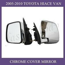 TOYOTA Hiace 2005-2012 Van Commuter planting chrome rear view door side mirror
