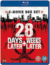 28 Days Later/28 Weeks Later (Blu-ray, 2008, 2-Disc Set, Box Set)