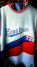 ECKO basket ball vest mesh heavy duty in LARGE OR X/L RED/WHITE/BLUE