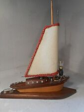 Vintage Boat Table Lamp    ref 2159