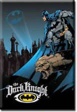 New Batman the Dark Knight  Miniature Sign Magnet 2 inches X 3 inches