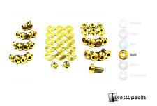 Dress Up Bolts for 03-05 Subaru Forester SG Gold Ti Titanium Engine Bay Kit