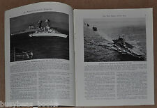 1942 magazine article about AIRCRAFT CARRIERS WWII usage design Navy pilots etc
