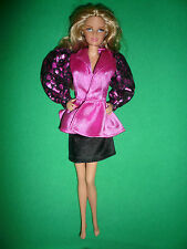 Barbie Doll Fashion ~Over Sized Puff Sleeve Skirt Suit ~ No doll
