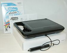 THQ uDraw BLACK Game Tablet & Studio Instant Artist Video Game Wii Artist Action