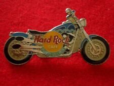 HRC Hard Rock Cafe Puerto Vallarta Blue Harley Fat Boy Motorcycle