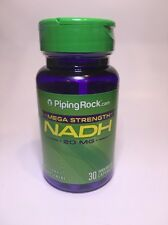 NADH MEGA STRENGTH 20MG ENERGY CLARITY MENTAL ALERTNESS SUPPLEMENT 30 CAPSULES