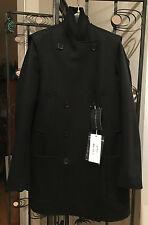 Maison Margiela Wool-Cashmere Convertible Coat Line 1 - Retail $2,195.00