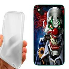 CUSTODIA COVER CASE TPU PAGLIACCIO SIGARO PER WIKO SUNSET 2