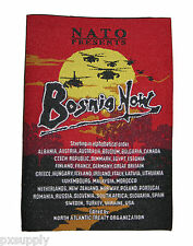 patch bosnia now ifor sfor nato