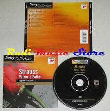 CD STRAUSS valzer e polke EUGENE ORMANDY la magia della classica lp mc dvd vhs