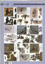 Le Suh Book A4 3D Decoupage 13 General assortment mini Reduced