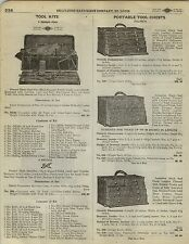 1923 Paper Ad Pauwen Portable Tool Chest Box Diamond Edge Shapleigh