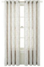 *Royal Velvet Whittier Blackout Grommet Top Curtain Panel 50Wx84L Cool White