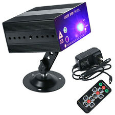 Stage Lighting 48 Pattern RGB Laser Projector LED Party DJ Disco KTV Club Remote