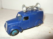 Vintage Dinky-Meccano Rare Type 28 series Van with Public Announcement Speaker