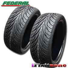 2 Federal SS-595 Tires 235/45R17 93V Ultra High Performance 235/45/17 New