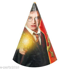 HARRY POTTER Order of the Phoenix CONE HATS (8) ~ Birthday Party Supplies Favors