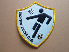 Brighton Soccer Club Woven Cloth Patch Badge (L1K)