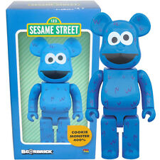 Medicom Be@rbrick Bearbrick Sesame Street Cookie Monster 400% Figure