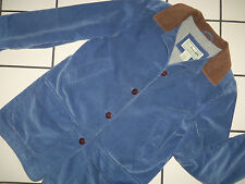 PERFECT! LL Bean Classic Blue Corduroy Flannel Lined BARN Field Fall JACKET M